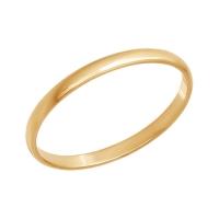 Тонкое обручальное кольцо